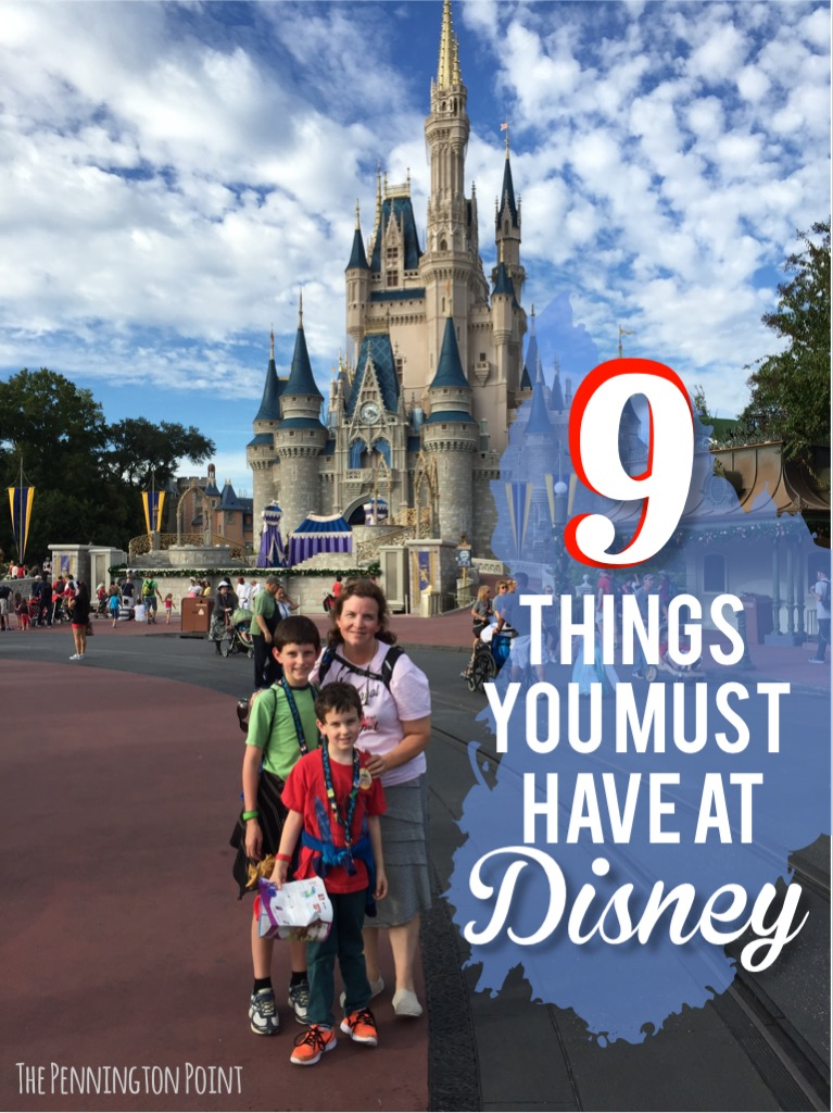Planning a Disney trip?  This is a must have list from a mom of 9!