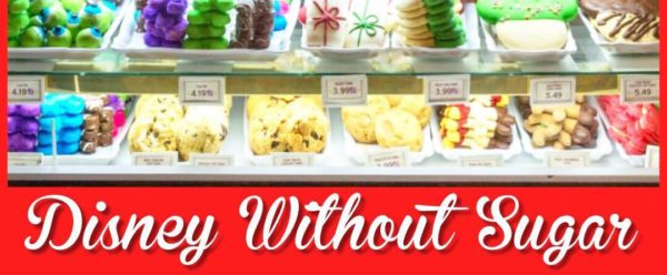 Great tips for how to go to Disney World and not eat sugar