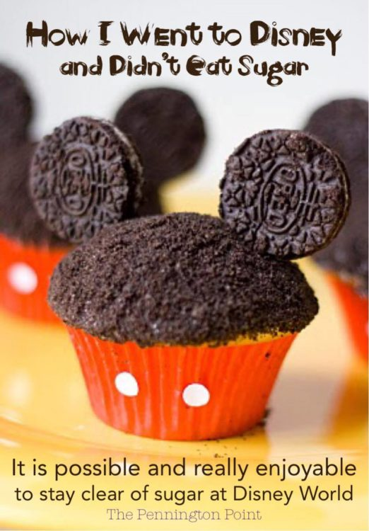 Did you know you can go to Disney and not eat too much sugar? It's a great way to take care of yourself while traveling!