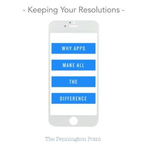 Keeping Your Resolutions – Apps Make All the Difference
