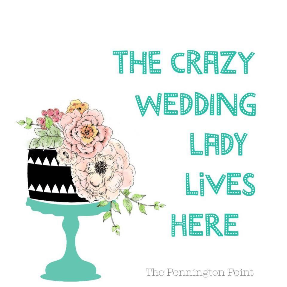 The Crazy Wedding Lady Lives Here