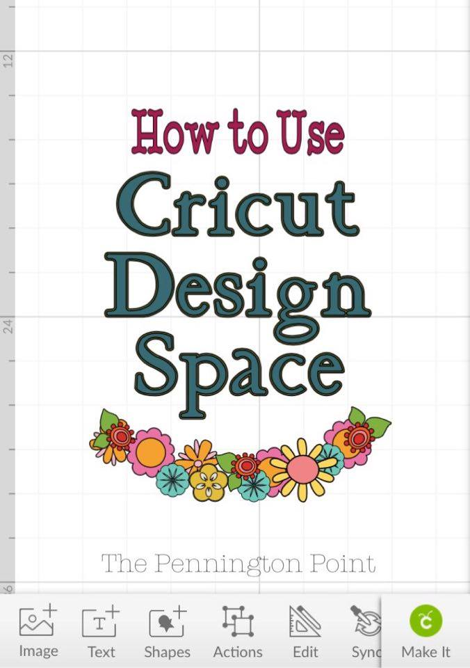 Great walkthrough for getting started using Cricut Design Space #spon