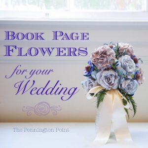 Beautiful Book Page Flowers