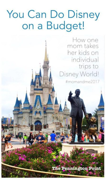 It's possible to go to Disney World on a budget and still have a great time!