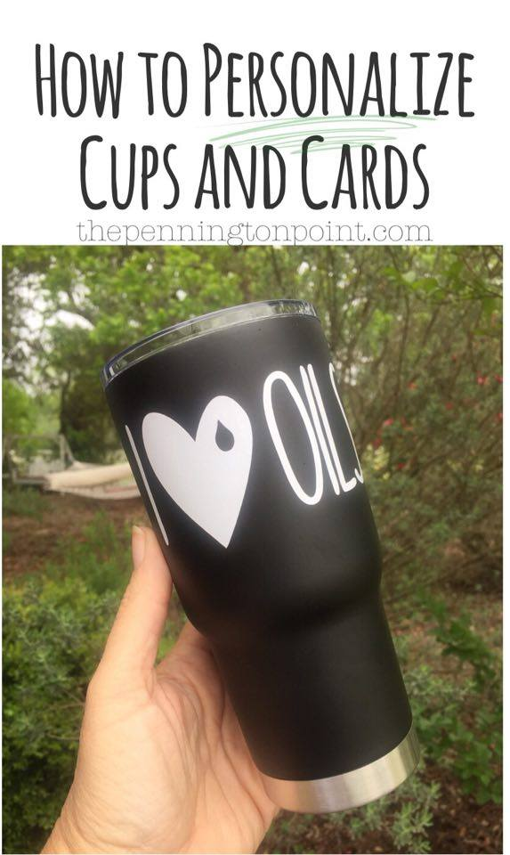 Personalize Your Own Cards and Cups!