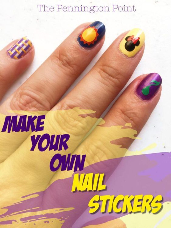 Make Your Own Nail Art Stickers
