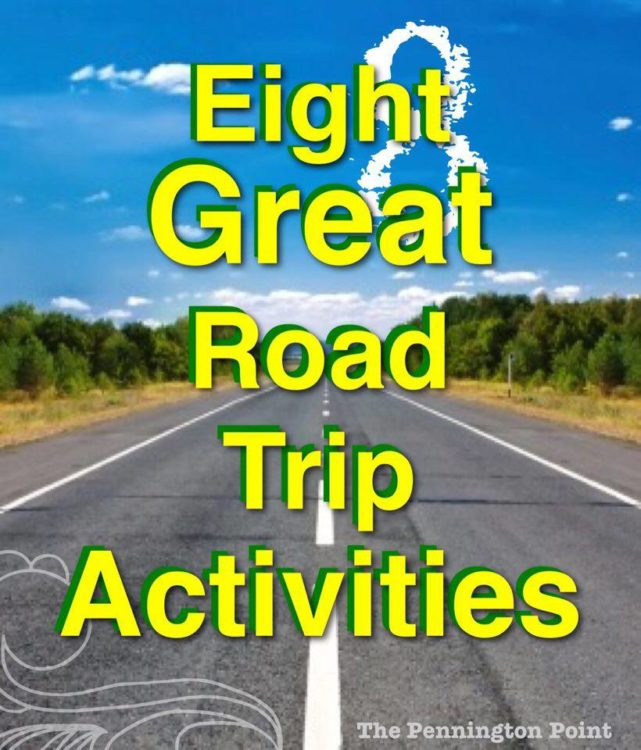 Great ideas for road trip activities for all ages!