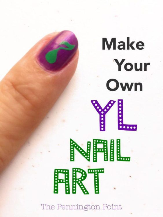 Make your own nail art using Cricut. Great ideas for building your Young Living business and team building gifts.