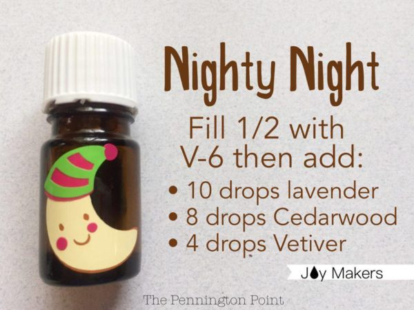Great ideas for how to use those empty essential oil bottles! This recipe will help you at night. You could even make a blend for the kids to have their own!