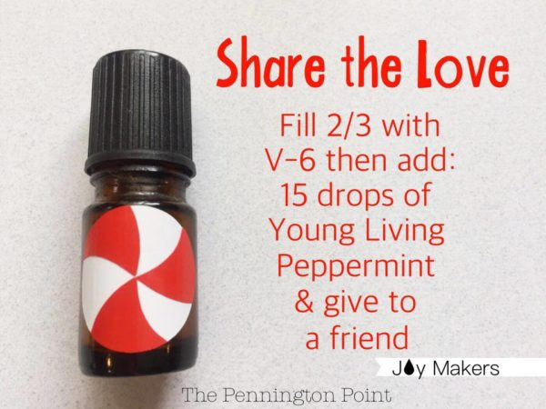 Share peppermint with your friends by using your old essential oil bottles. Plus lots of other great recipes and ideas!