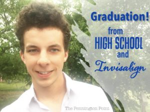 Graduating from High School and Invisalign