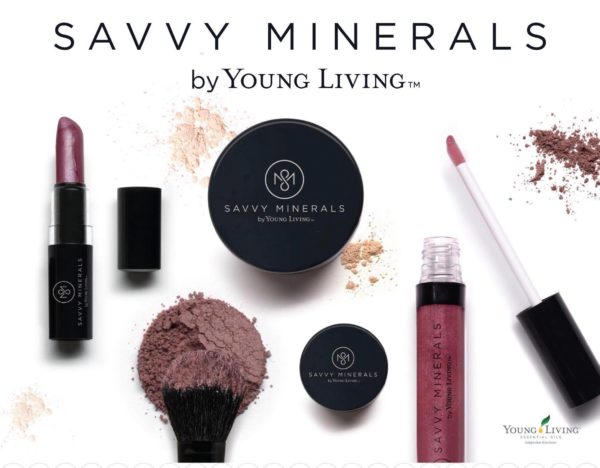 A review of the new Savvy Minerals by Young Living. If you're looking for a great mineral makeup then you need to read this!