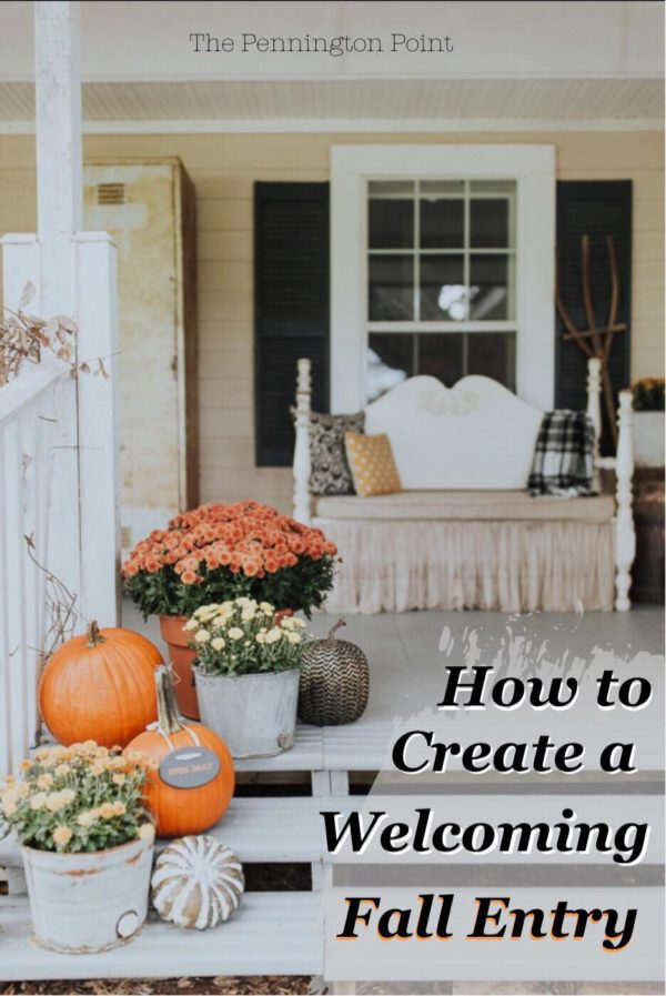 How to Create a Welcoming Fall Entry to Your Home