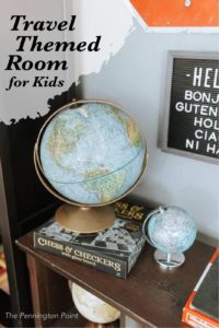 Travel Themed Room for Kids